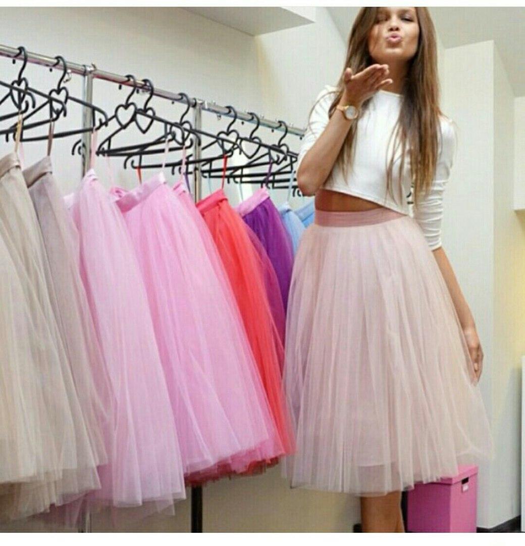 Как сделать чтобы юбка стояла колом